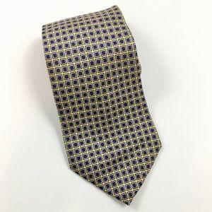 Lauren Ralph Lauren Squares Graphic Silk Tie
